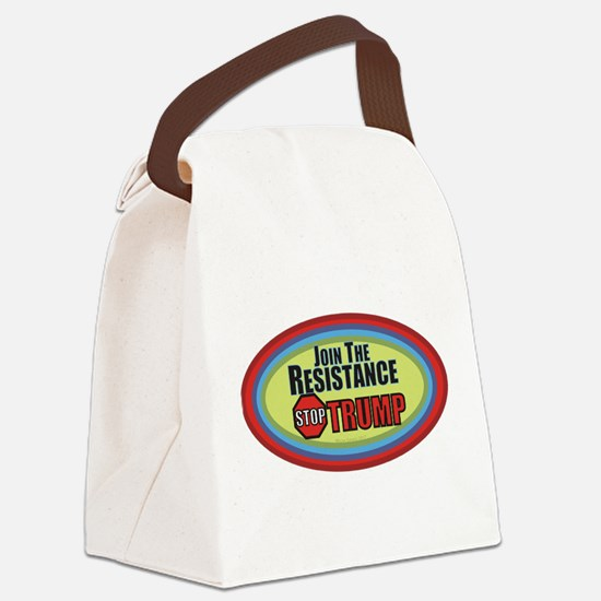 Resist Trump Canvas Lunch Bag