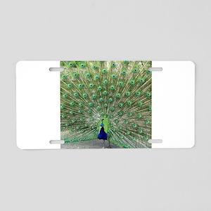 Peacock20170102 Aluminum License Plate