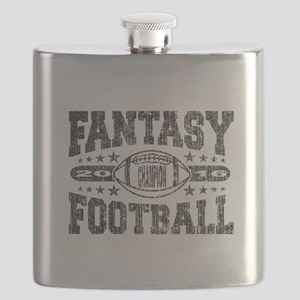 2016 Fantasy Football Champion Football Desi Flask
