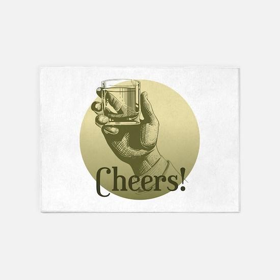Cheers! 5'x7'Area Rug