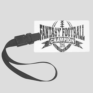 2016 Fantasy Football Champion F Large Luggage Tag