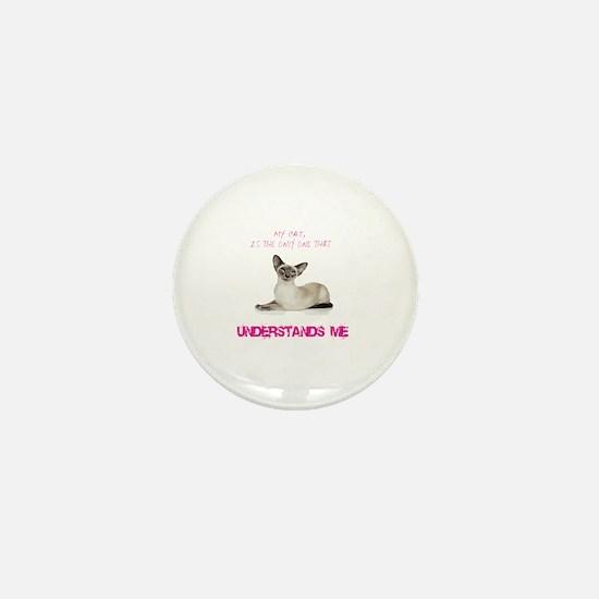 Cat coffee Mini Button