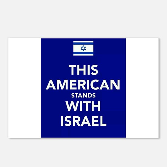 Stand with Israel Postcards (Package of 8)
