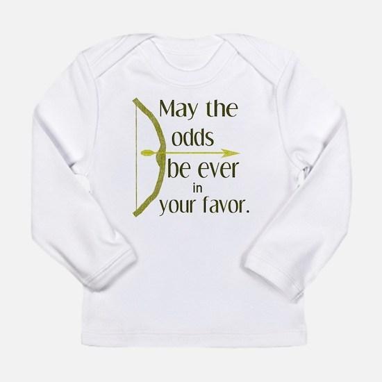 Odds Favor Bow Arrow Long Sleeve T-Shirt
