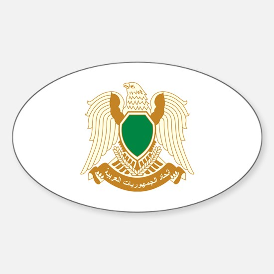Cool Libyan Sticker (Oval)