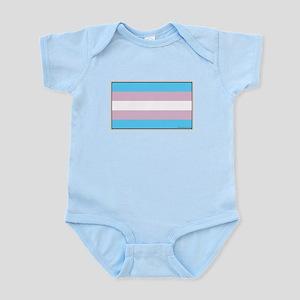 Transgender Pride Flag Body Suit
