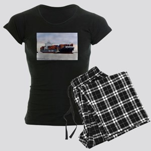Container cargo ship and tug Pajamas