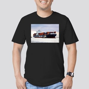 Container cargo ship and tug T-Shirt