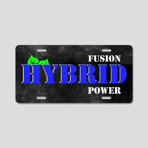 Fusion Hybrid Power Aluminum License Plate