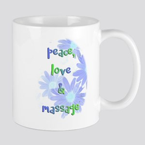 Peace, Love and Massage Mugs