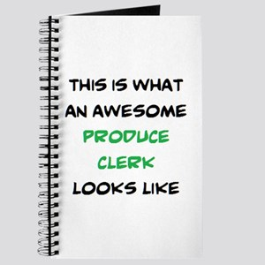 awesome produce clerk Journal