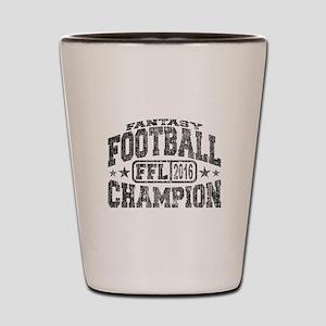 2016 Fantasy Football Champion FFL Cham Shot Glass