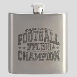 2016 Fantasy Football Champion FFL Champ Flask