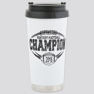 2016 Fantasy Football C Stainless Steel Travel Mug