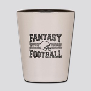 2016 Fantasy Football Champion Helmet C Shot Glass