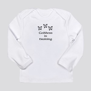 Goddess in Training Butterflies Long Sleeve T-Shir