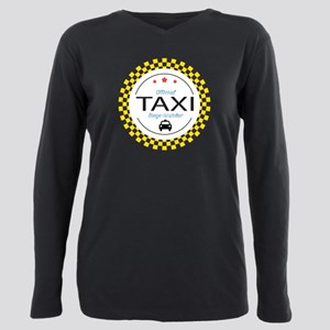 Taxi TV Binge Watcher Plus Size Long Sleeve Tee