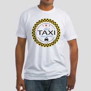 Taxi TV Binge Watcher Fitted T-Shirt