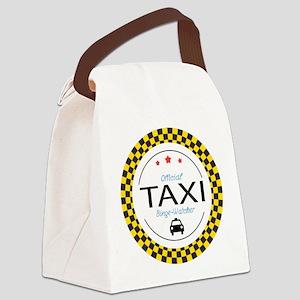 Taxi TV Binge Watcher Canvas Lunch Bag