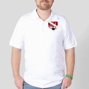 CD Certified Diver Golf Shirt