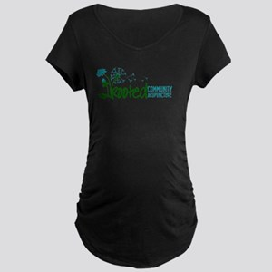 Rooted Community Acupuncture Maternity T-Shirt