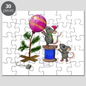 Christmas Mice Puzzle
