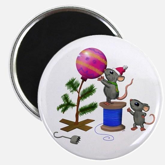 Christmas Mice Magnets