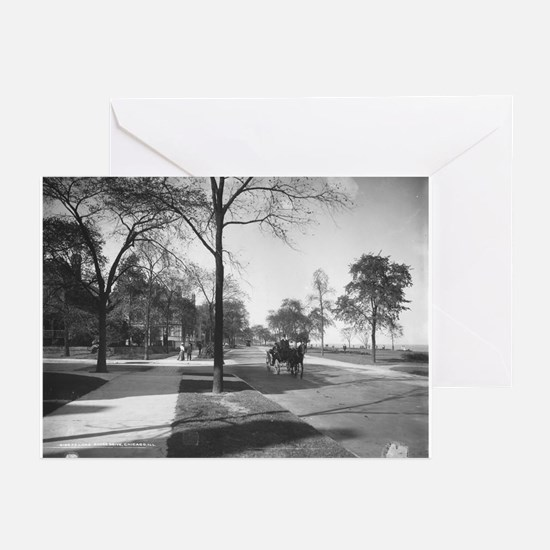 Lake Shore Drive/Burton Greeting Cards (Package of
