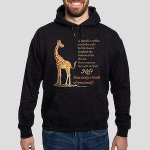Funny Coffee Giraffe Sweatshirt