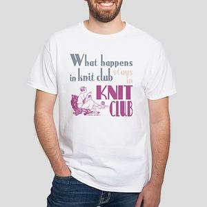 Knit club pink grey T-Shirt
