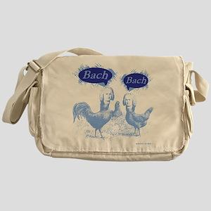 Chicken Bach Bach Blue Messenger Bag