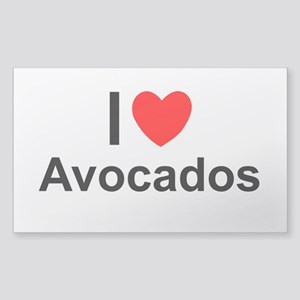 Avocados Sticker (Rectangle)