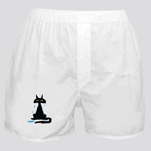 wet cat Boxer Shorts