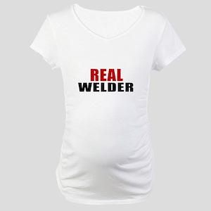 Real Welder Maternity T-Shirt