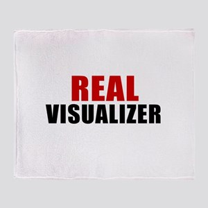 Real Visualizer Throw Blanket