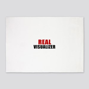 Real Visualizer 5'x7'Area Rug