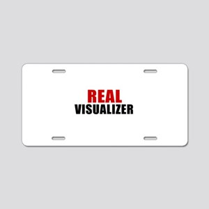Real Visualizer Aluminum License Plate