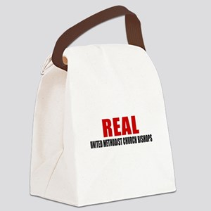 Real United Methodist Church Bish Canvas Lunch Bag
