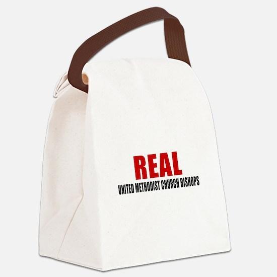 Real United Methodist Church Bish Canvas Lunch Bag