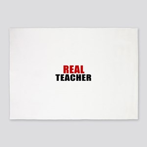 Real teacher 5'x7'Area Rug