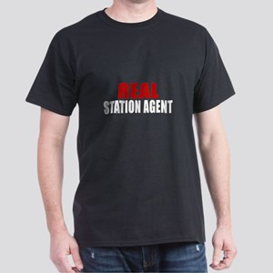 Real Station agent Dark T-Shirt