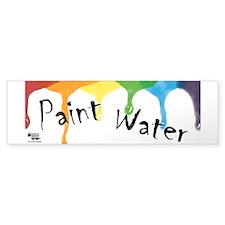 Paint Cup Bumper Sticker