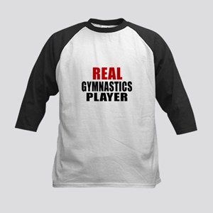 Real Gymnastics Kids Baseball Jersey