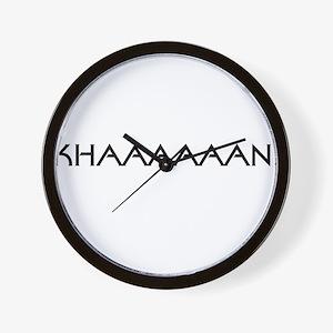 Khaaaaaan! Wall Clock