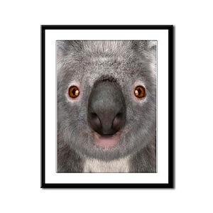 Koala Bear Framed Panel Print