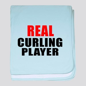 Real Curling baby blanket