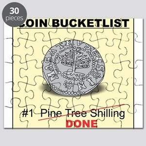 Pine Tree Shilling Bucketlister Puzzle