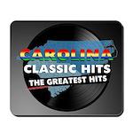 Carolina Classic Hits Mousepad (dark)