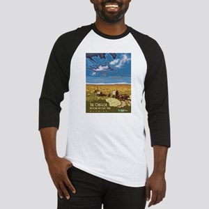 Vintage poster - The Oregon Trail Baseball Jersey