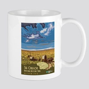 Vintage poster - The Oregon Trail Mugs